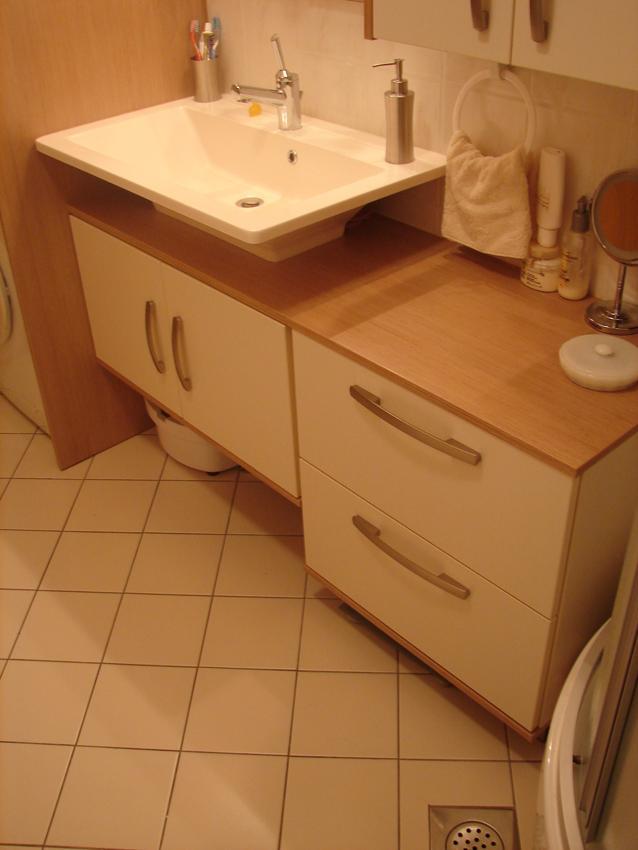 vgradne omare za kopalnico