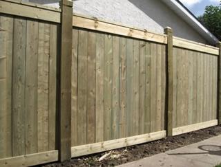 lesene ograje za vrt