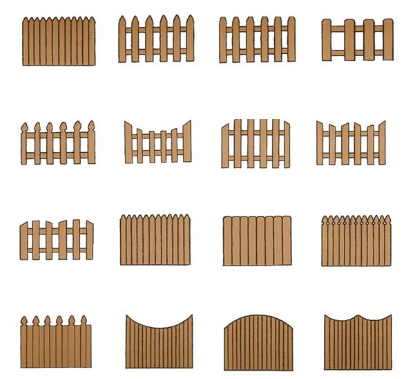 lesene ograje