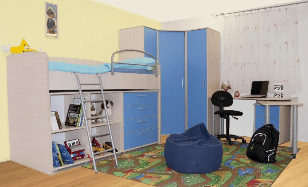 otroške sobe pograd