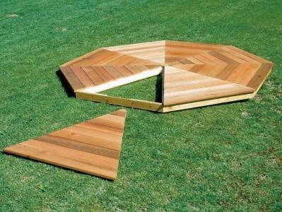 Ideje kje in kako postaviti lesene pergole