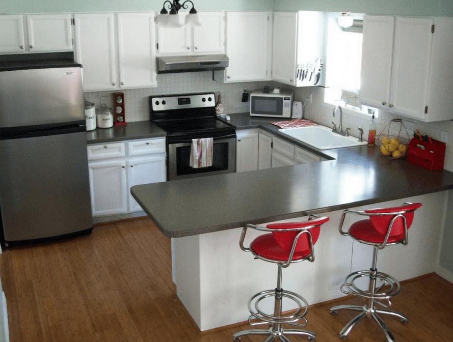 vrste kuhinjskih pultov