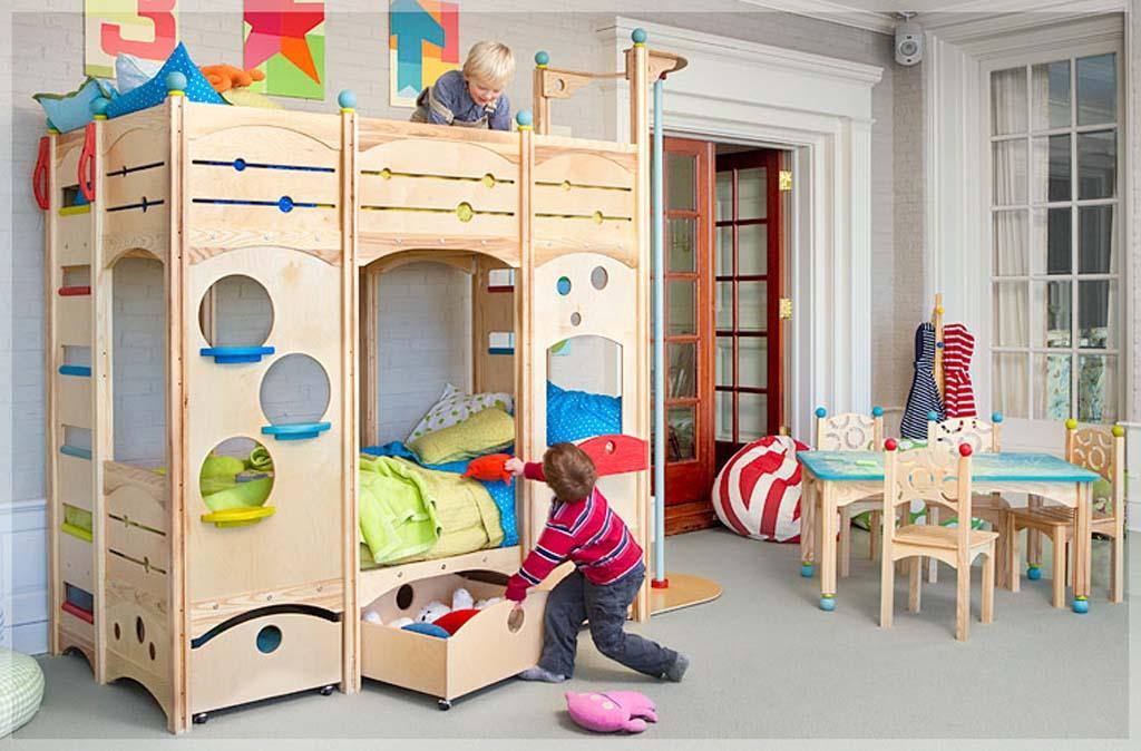 ideje za ureditev otroške sobe
