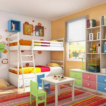 3 praktični nasveti za ureditev otroške sobe