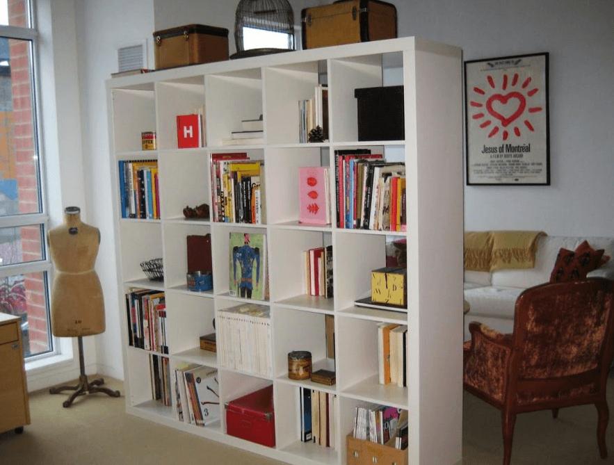 izdelava knjižnih regalov po meri