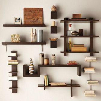 stenske knjižne police po meri
