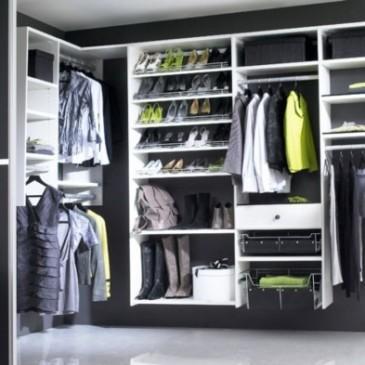 Kako zasnovati garderobno sobo