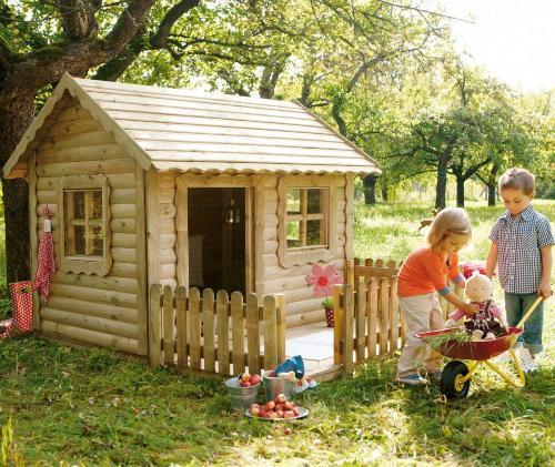 izdelava lesene hiške za otroke