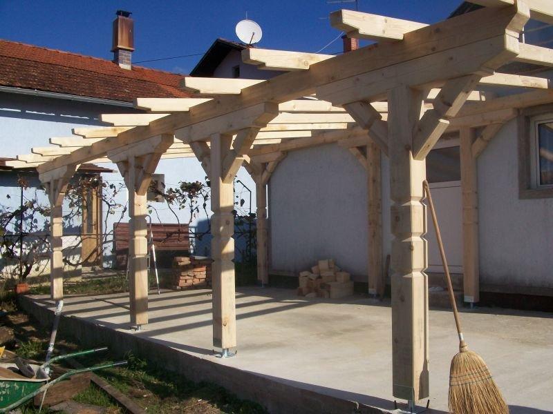 izdelava lesenih nadstreškov maribor