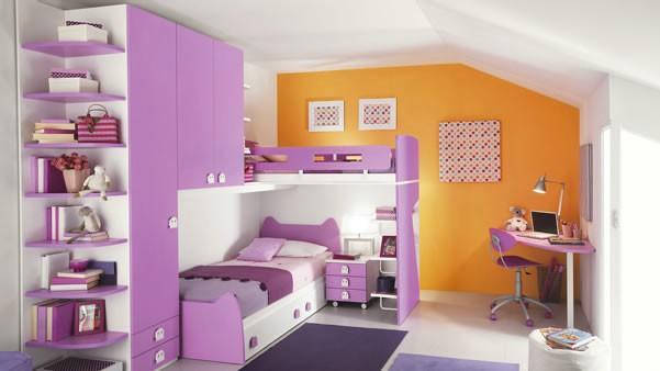 poceni moderne otroške sobe