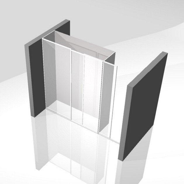 postavitev vgradne garderobne omare po meri