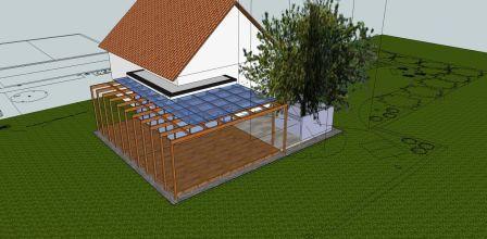 izris in izdelava zunanje terase