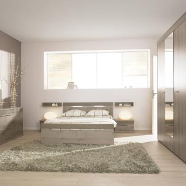 3 različni kontrasti pohištva za opremo spalnice