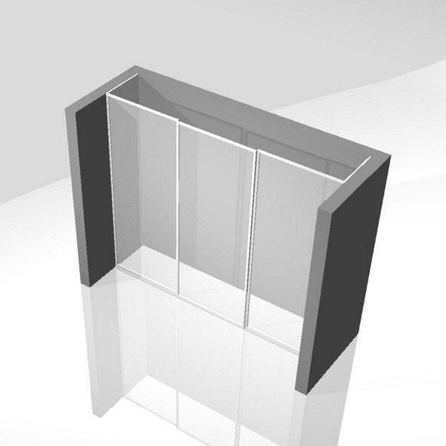vgradne garderobne omare po meri