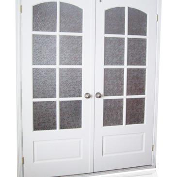 9 primerov možnosti izvedbe lesenih vhodnih vrat