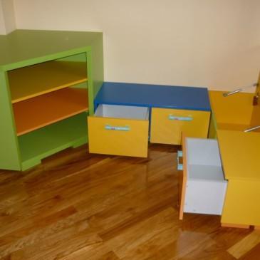 Rešitve in predlogi za opremljanje otroških sob s pohištvom po meri