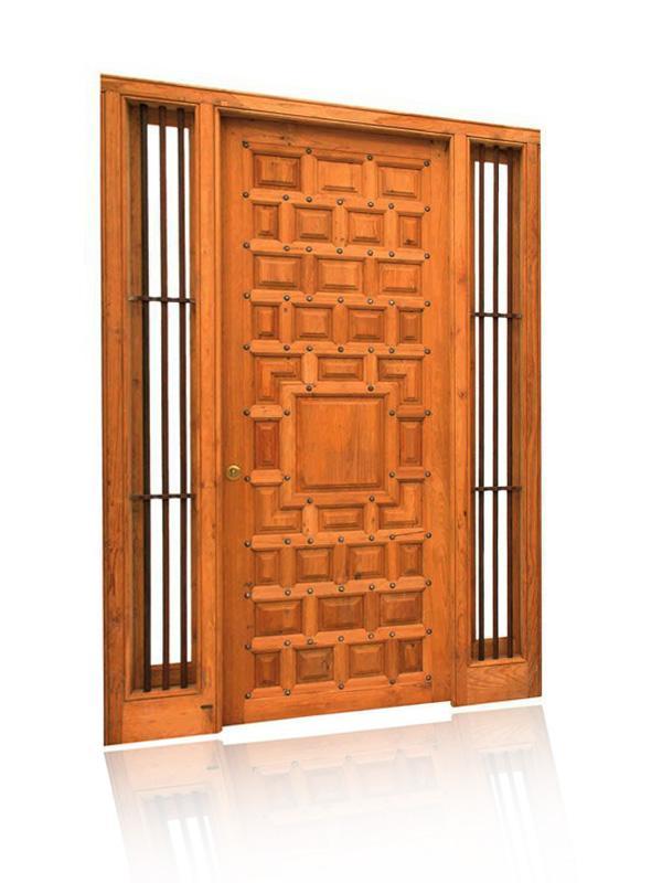 Moderna in  luksuzna lesena vrata