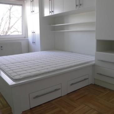 Primeri izdelanih postelj za spalnice po naročilu
