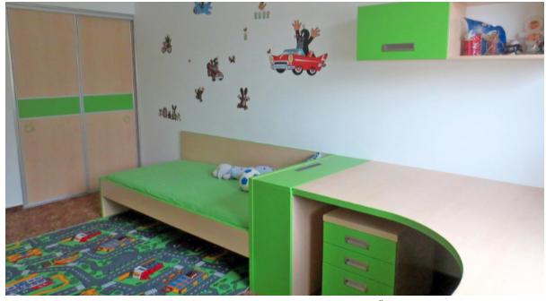 vgradne omare za otroške sobe