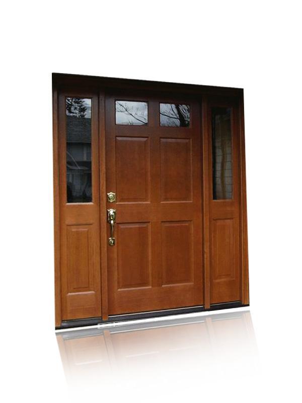 Izdelava vhodnih vrat z ravnimi linijami