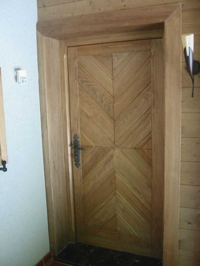 izdelava lesenih vhodnih vrat