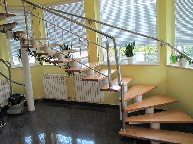 zavite stopnice