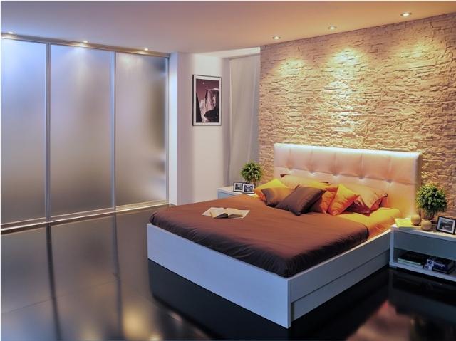moderne vgradne omare za spalnico