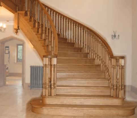 krivljena stopnišča