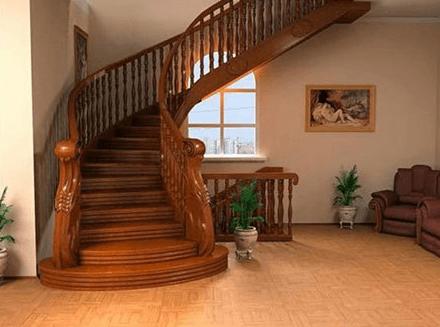 krivljeno stopnišče