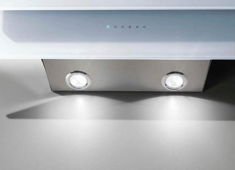 moderna kuhinjska napa s svetili