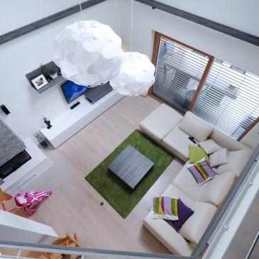 Kako smo opremili dnevno sobo v modernem stilu