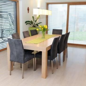 Primeri različnih jedilniških miz za različne ambiente