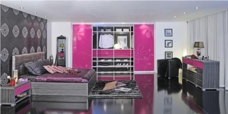 Moderne spalnice, izdelane po meri