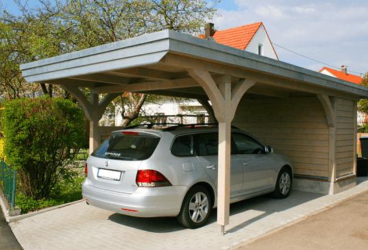 Leseni nadstreški za avto
