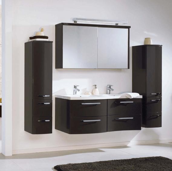 kopalniško pohištvo v obliki vala