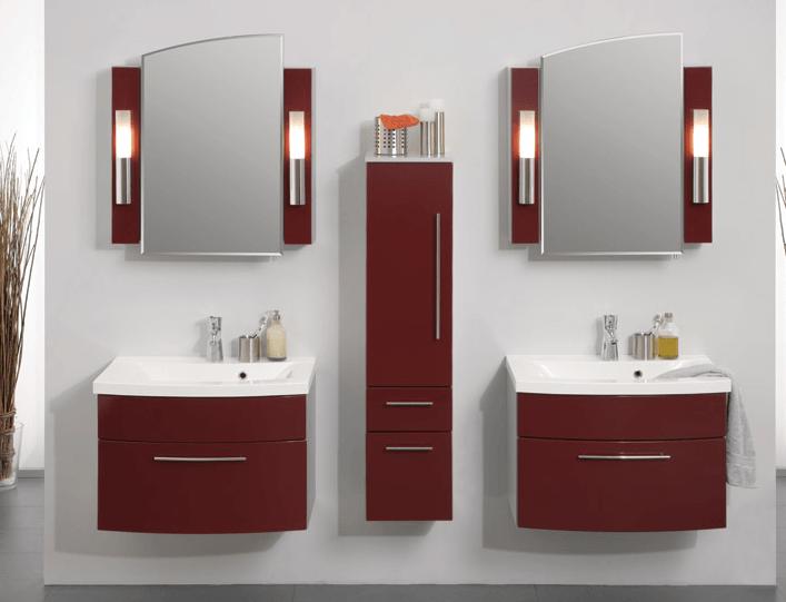 rdeča kopalnica