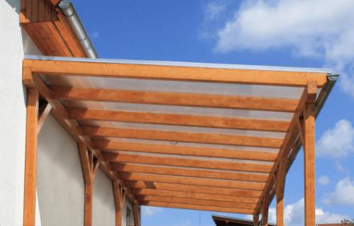pokrivanje terase z leksanom