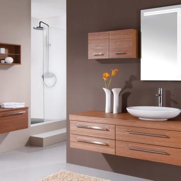 Ali in koliko lesa naj uporabim v kopalnici?