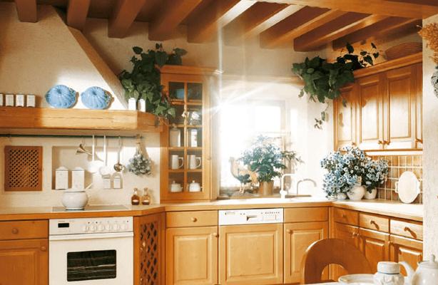 kuhinja naraven les