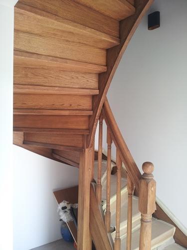 lesene stopnice po meri