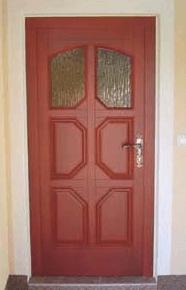 izdelava lesenih vhodnih vrat po meri