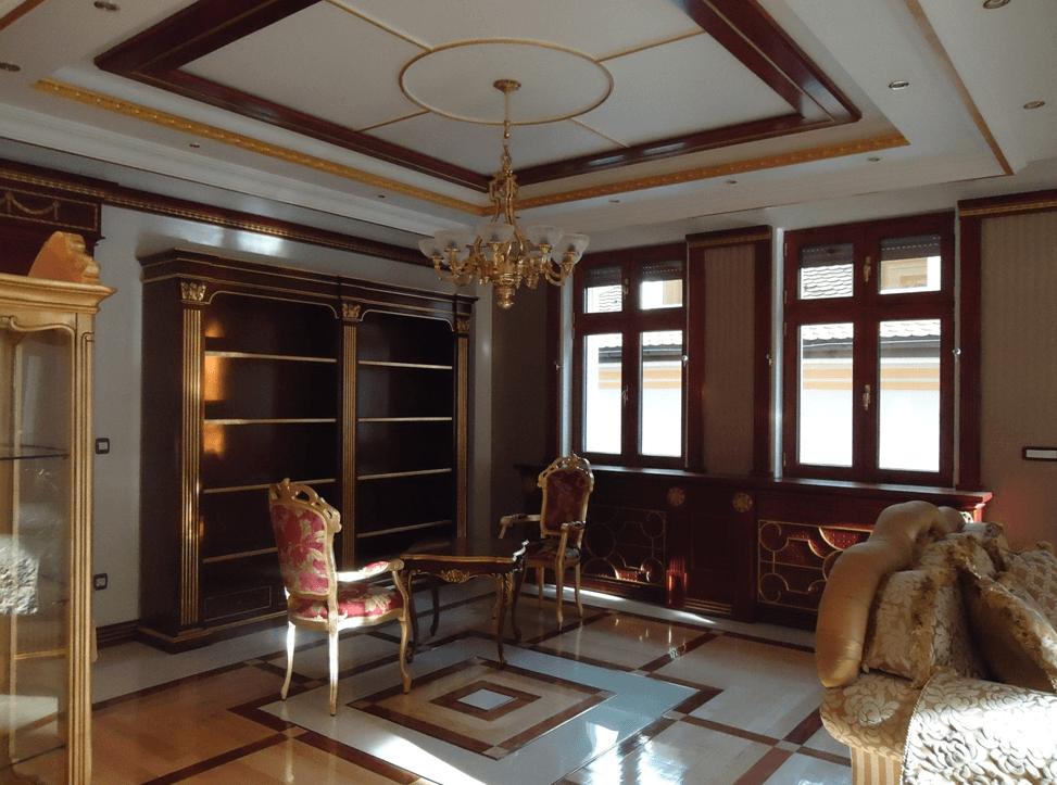izdelava prestižnega pohištva v hotelu