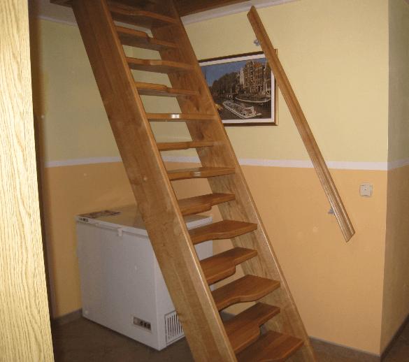 strme fiksne stopnice