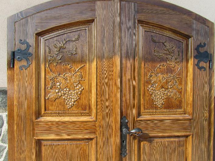 dvokrilna vrata za klet