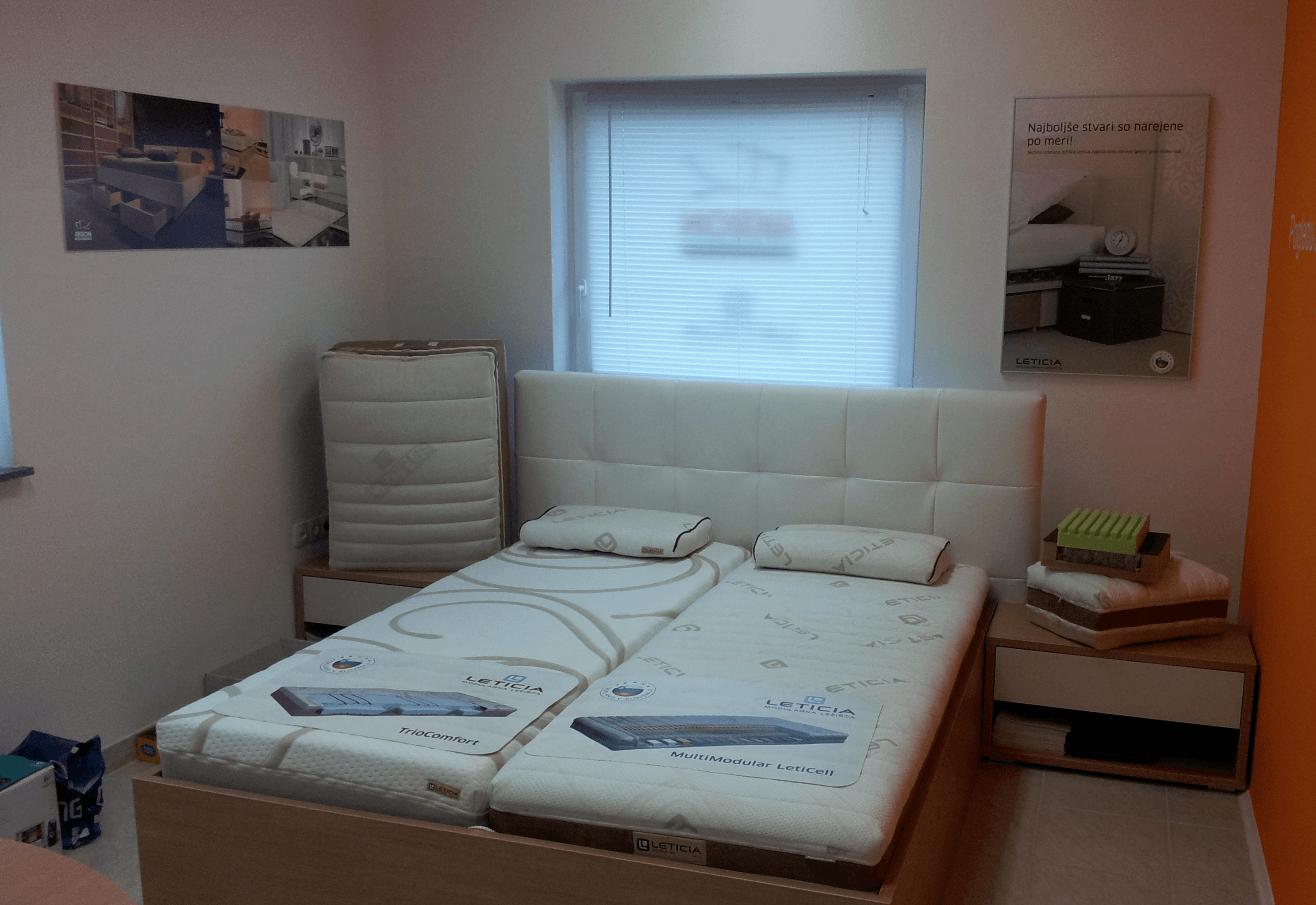 eksponat postelja