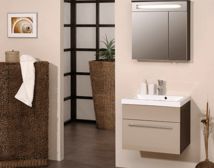 kopalniški blok manjša kopalnica