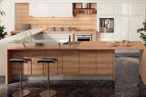 moderne kuhinje v u