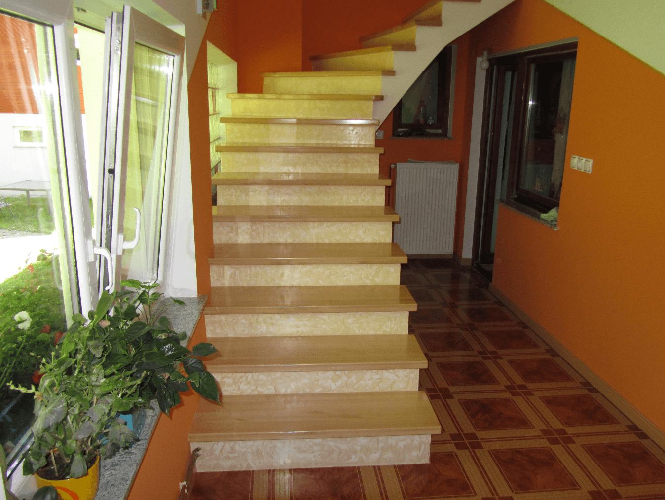 nastopne stopnice na beton