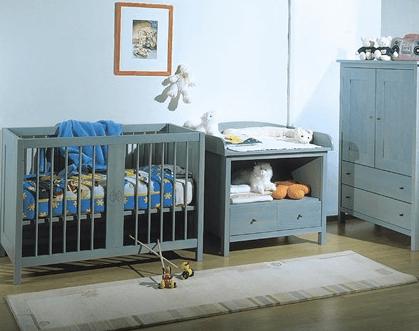 pohištvo masivni les otroške sobe