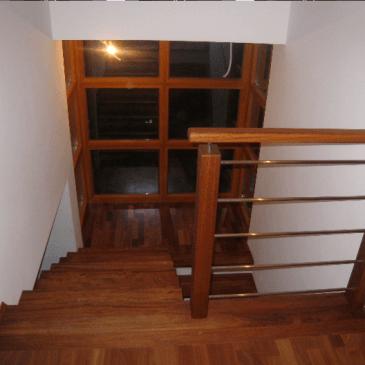 4 primeri izdelave različnih stopnišč